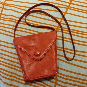 Vintage Ann Taylor Red Crossbody Bag